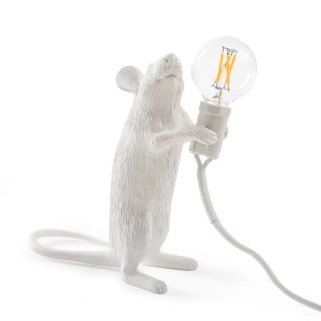 lamp in the shape of a mouse