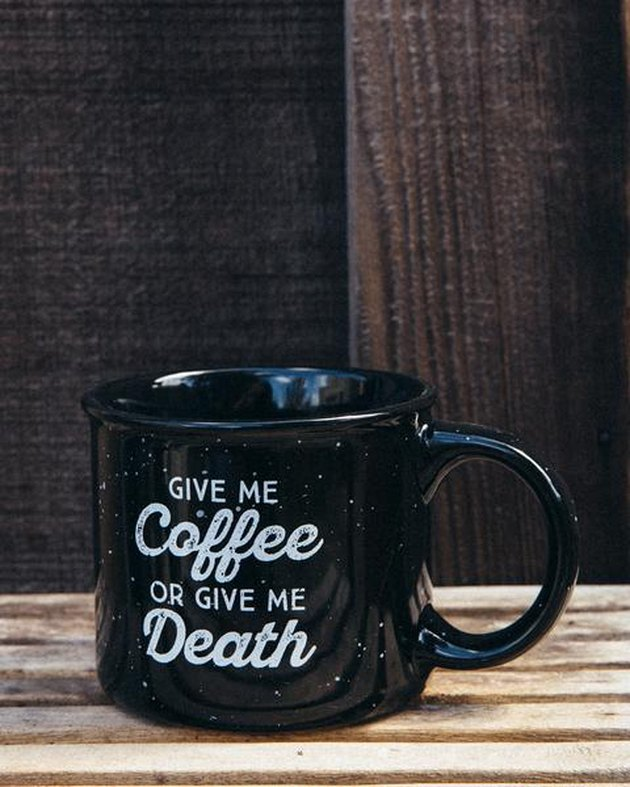 campfire coffee mug