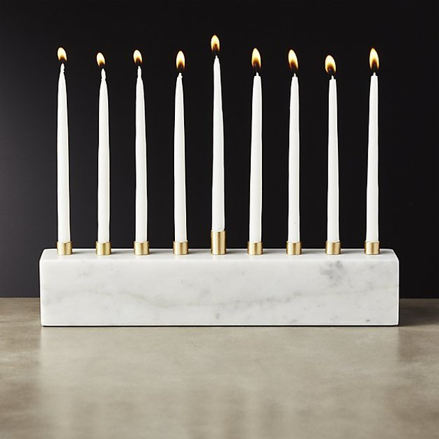 marble menorah