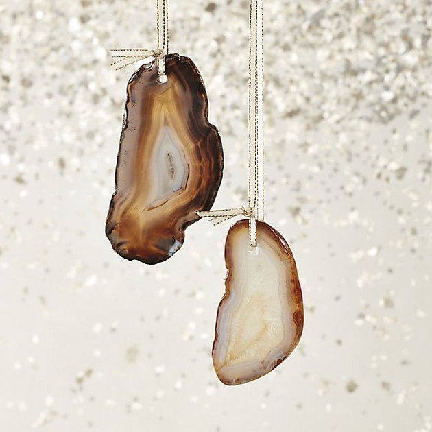 agate ornaments