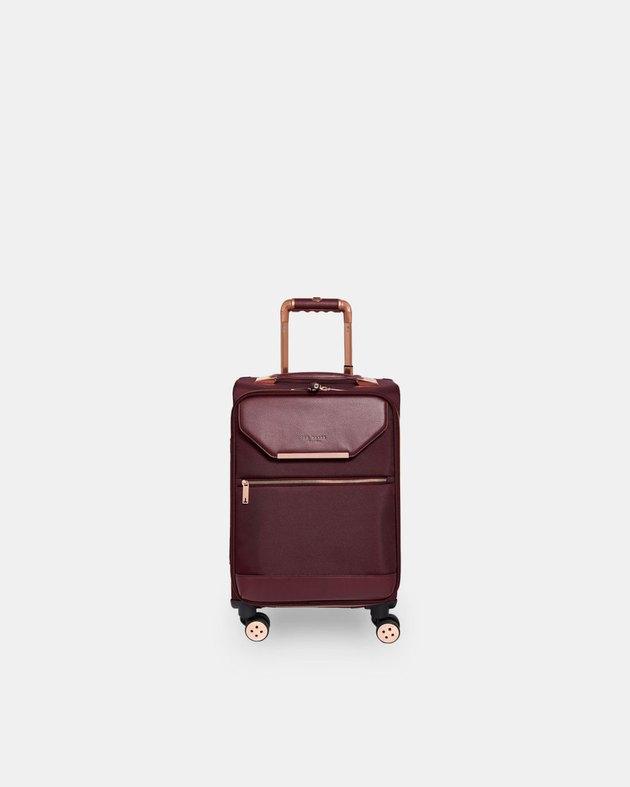ed Baker Luggo Metallic-Trim Small Suitcase
