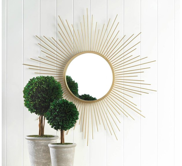 KKV Vintage Golden Rays Mirror