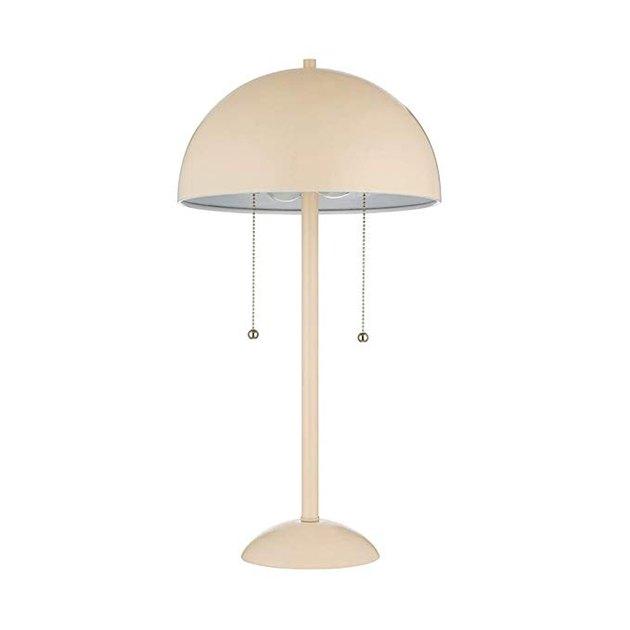 Rivet Dome-Shaped Table Lamp