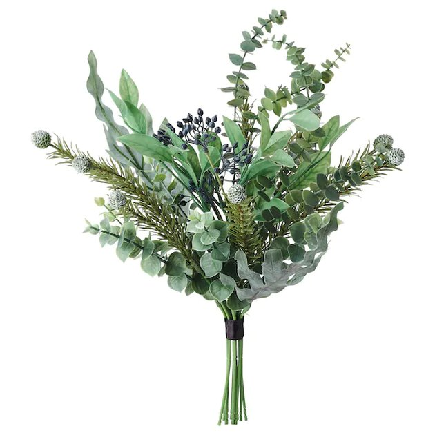 artificial green bouquet