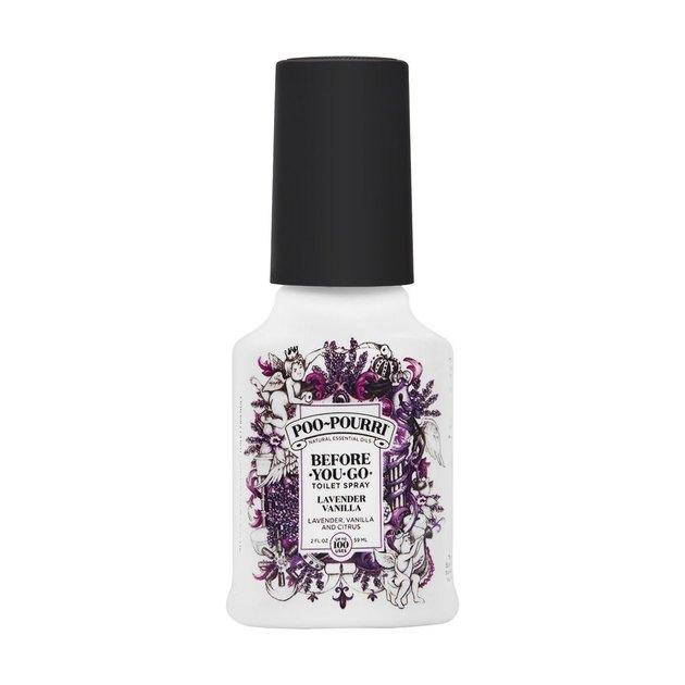 Poo-Pourri lavender vanilla bathroom spray