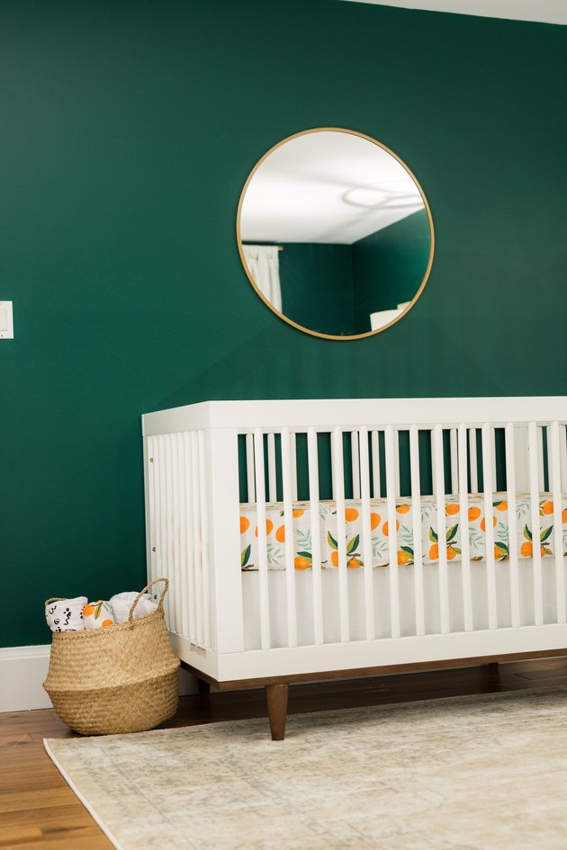 dark green nursery