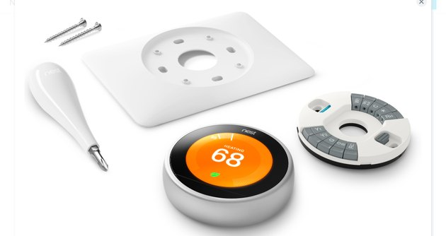 Nest thermostat kit.