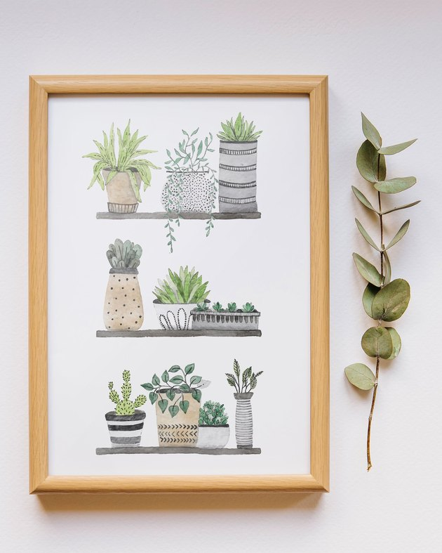 framed botanical free printable