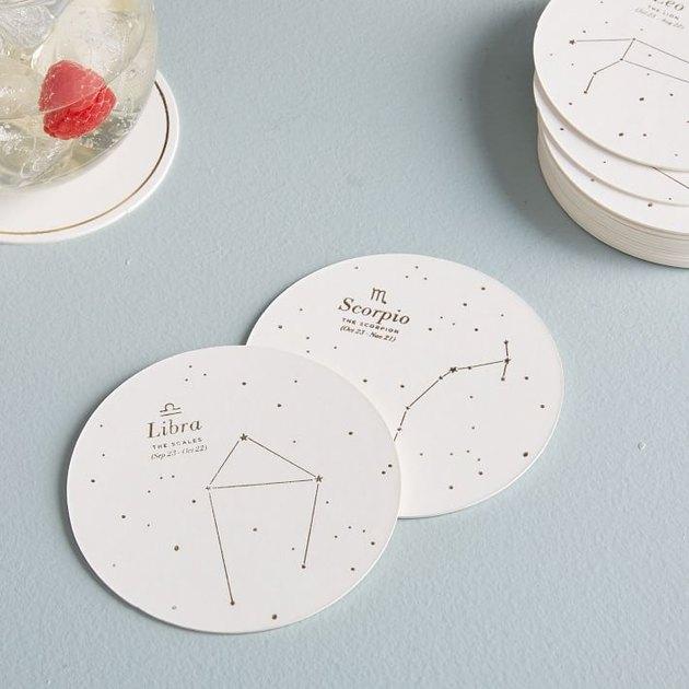 Paper Celestial Coasters