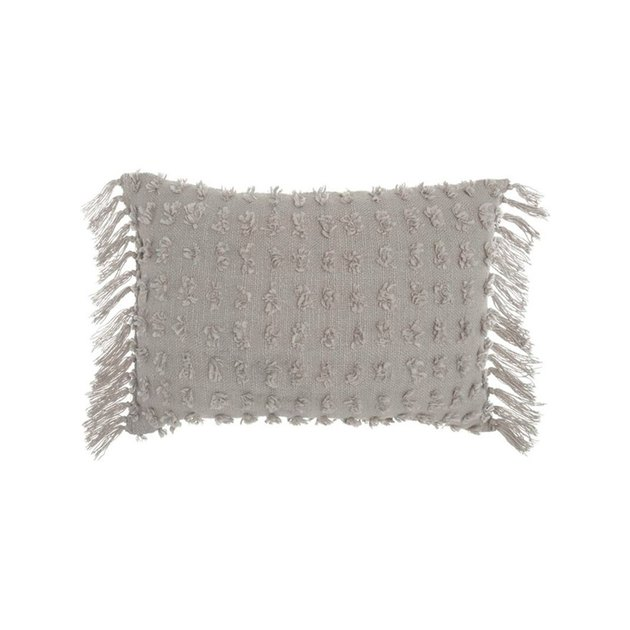 triff textured cotton lumbar pillow