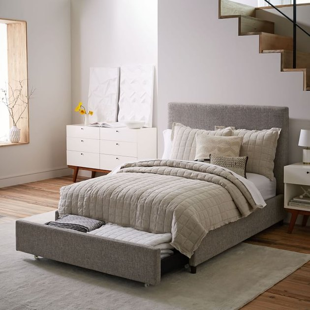 West Elm Contemporary Storage Bed