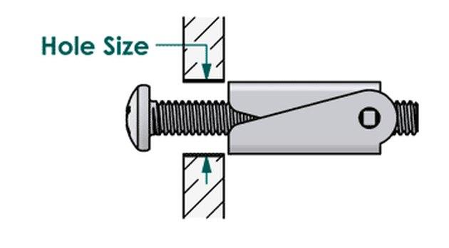 Diagram of toggle bolt.