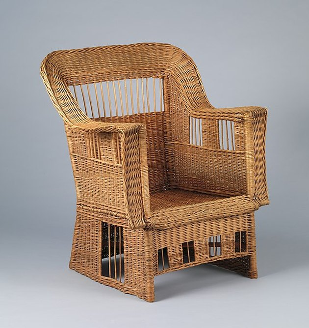 willow armchair by gustav stickley