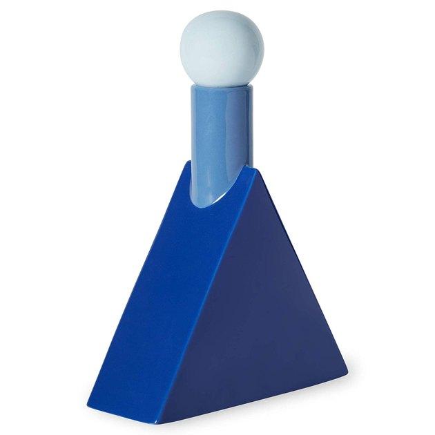 blue triangle decanter