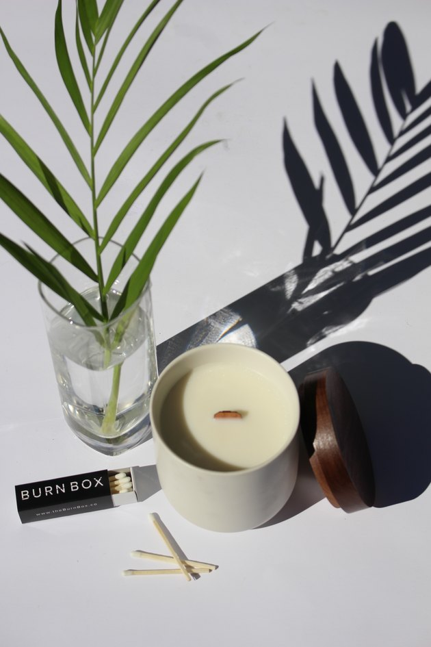 Burn Box candle subscription service