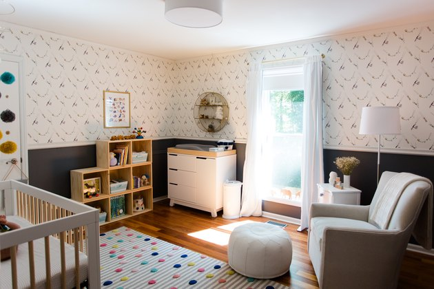 A whimsical, gender-neutral nursery