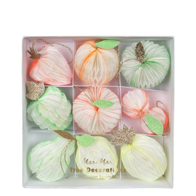 Meri Meri Fruit Tree Decoration Set, $14