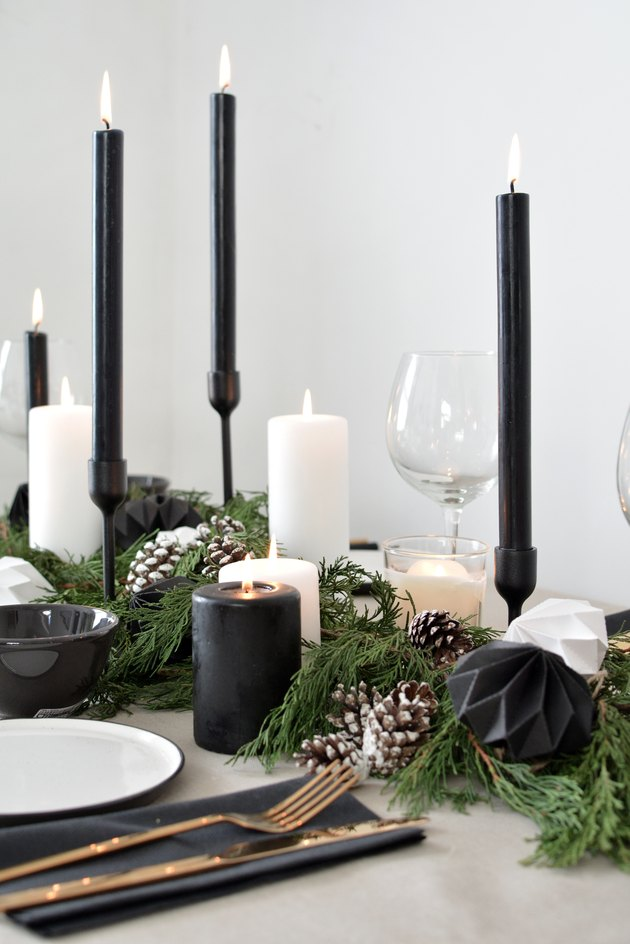 Scandinavian Inspired Christmas Tablescape