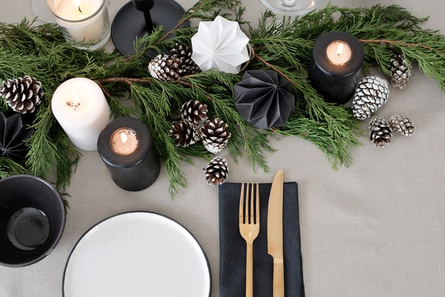 Scandinavian Christmas Tablescape