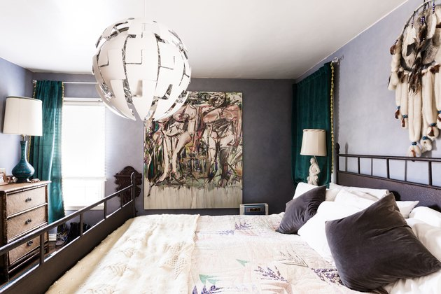 Maximalist bedroom decor
