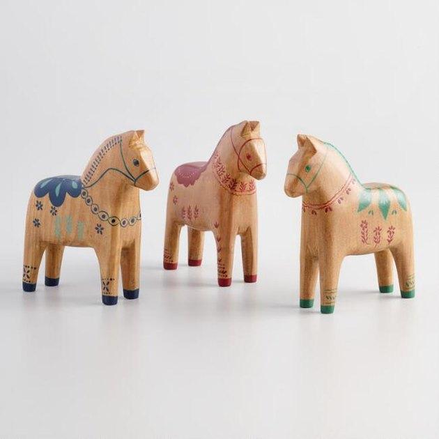 World Market Swedish Horses Trio, $50.97