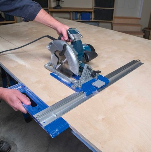 Circular saw edge guide.