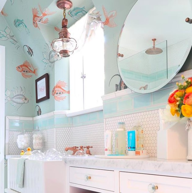 ocean themed bathroom