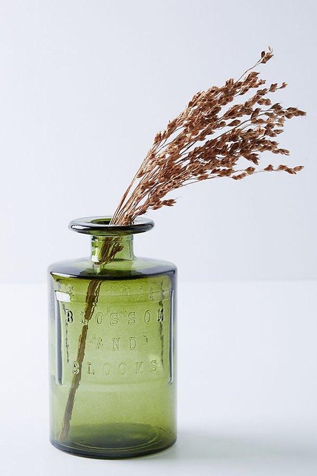 green apothecary jar