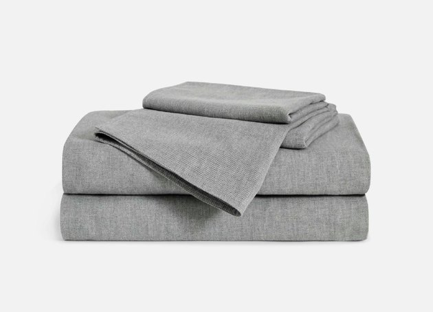 Brooklinen Heathered Cashmere Core Sheet Set, from $279
