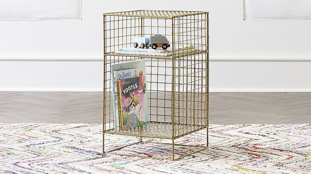 crate and kids cube nightstand