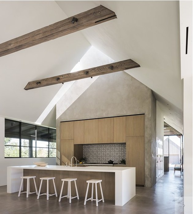 Field Architecture Ceramic Tile Kitchen Backsplash