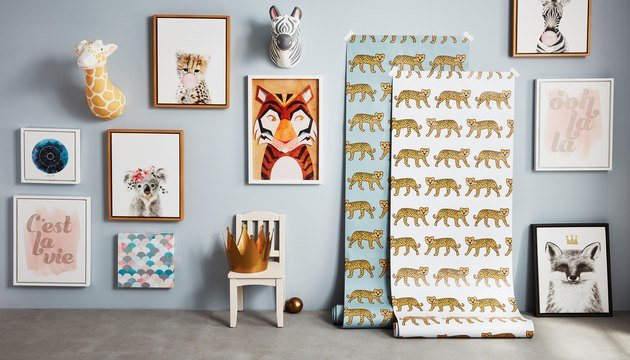 Bed Bath & Beyond's Marmalade wall art and wallpaper