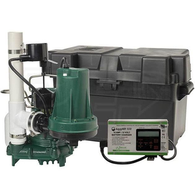 Combination sump pump.