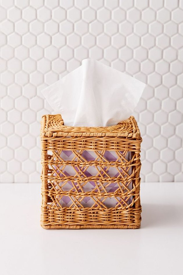 woven tissue cover
