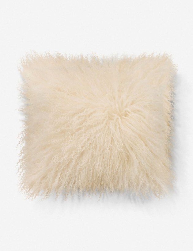 lambs wool pillow