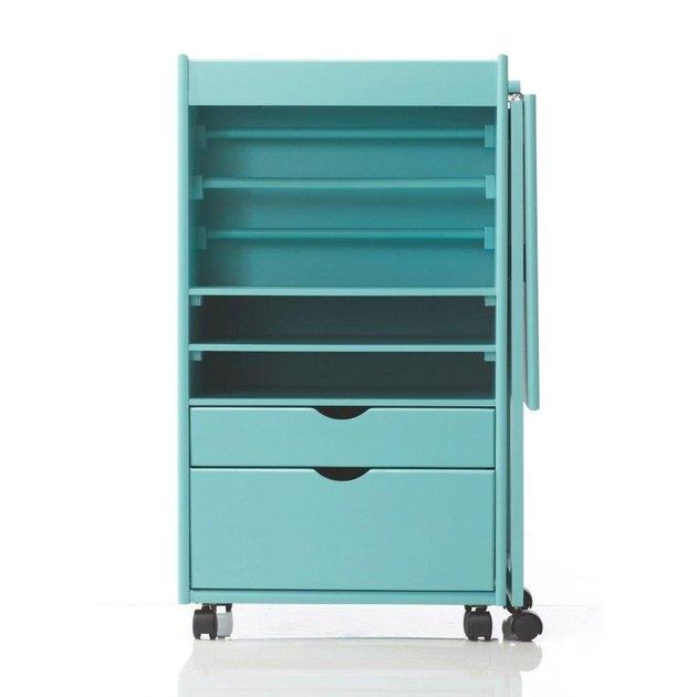 home depot blue cabinet