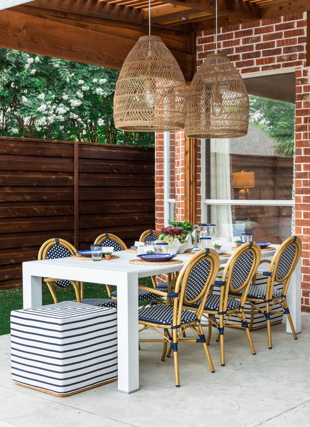 patio pendant lighting