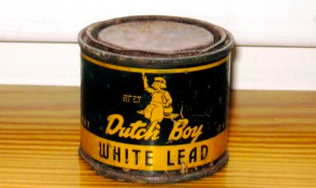 Dutch Boy lead paint.