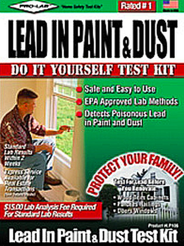 Lab test kit for lead.