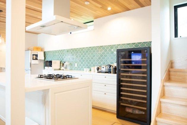 Fireclay Tile Ceramic Tile Kitchen Backsplash