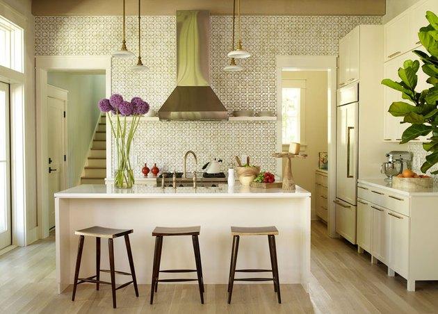 Angie Hranowsky Ceramic Tile Kitchen Backsplash
