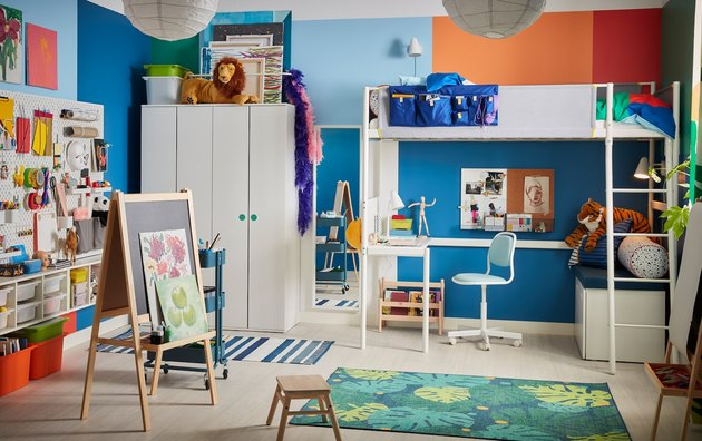 playroom furniture and decor