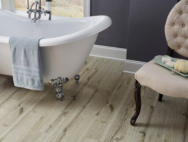 wood-look vinyl flooring