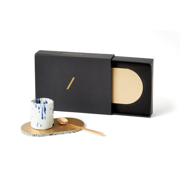 Slash Objects Brass Coasters