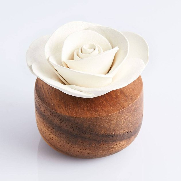 wooden rose essential oil diffuser