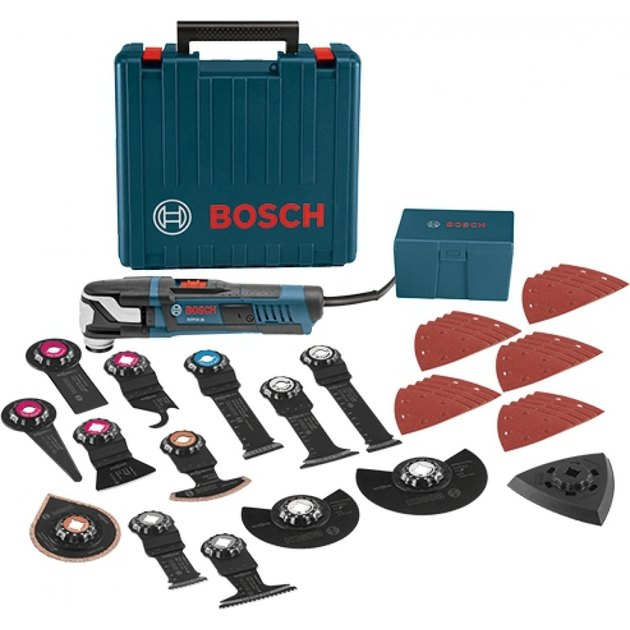Bosch oscillating tool kit