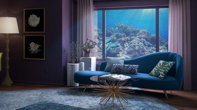 underwater living room