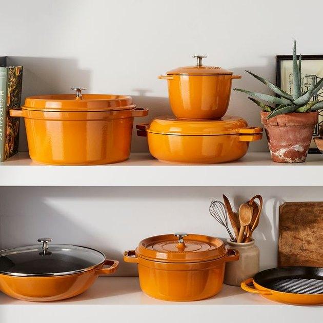 Staub x Food52 Turmeric Cookware