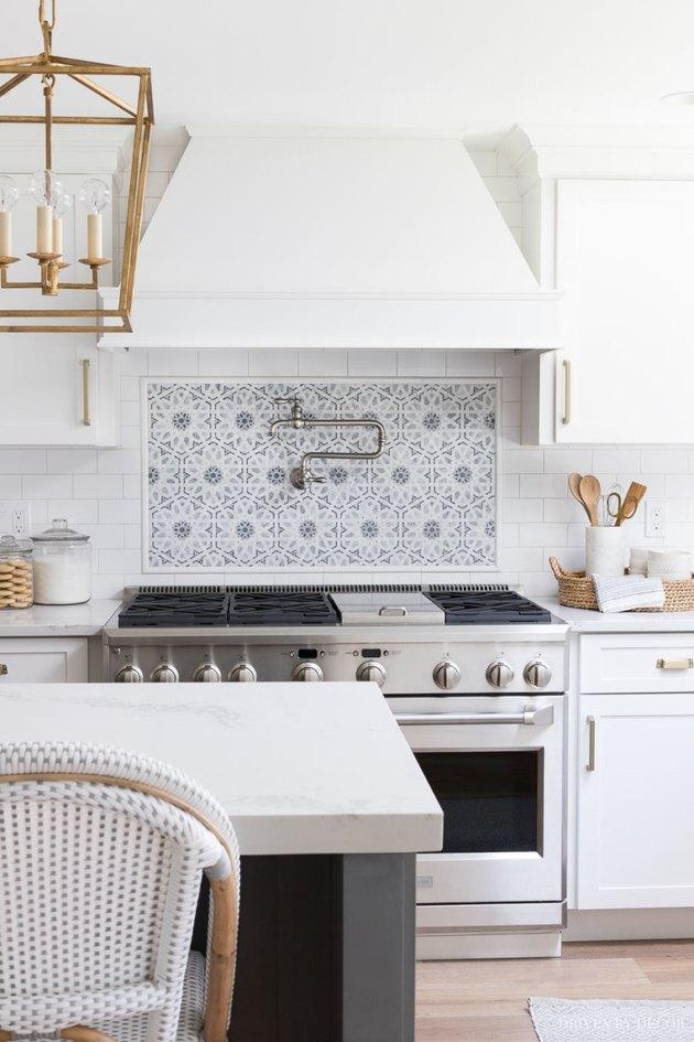 Driven by Decor Ceramic Tile Kitchen Backsplash