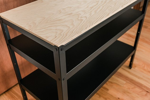 Assemble the IKEA work bench.